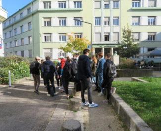 Les syndicats étudiants milite pour un remboursement des frais et la mise en place d'une session de rattrapage. © Tim Buisson – Place Gre'net