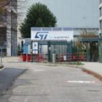 L'entrée du site de STMicroelectronics à Grenoble. © Tim Buisson – Place Gre'net