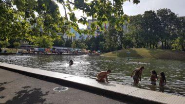 Lac du parc Verlhac de la Villeneuve 25 juillet 2020 © Séverine Cattiaux - Place Gre'net