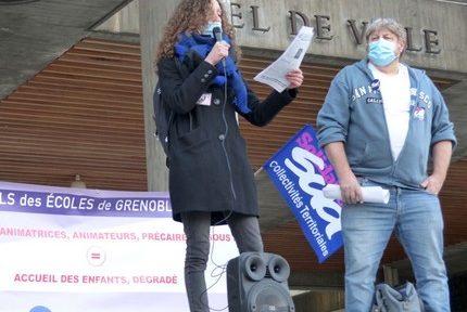"""La Ville de Grenoble annonce des mesures de """"déprécarisation"""" pour ses agents éducation et jeunesse"""