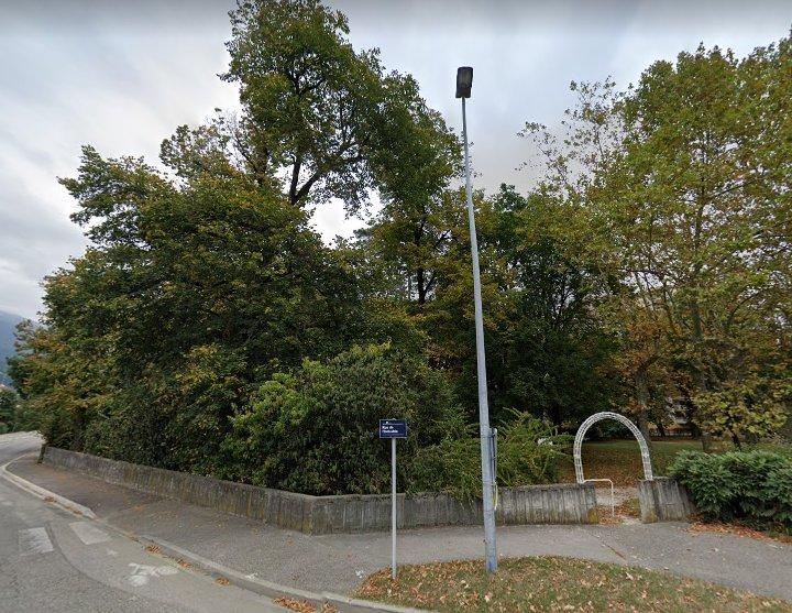 Rue de L'industrie à Echirolles. © Google Maps