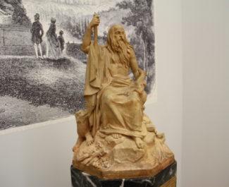 """Le """"Génie des Alpes"""" exposé au Musée de Grenoble © Laure Gicquel"""