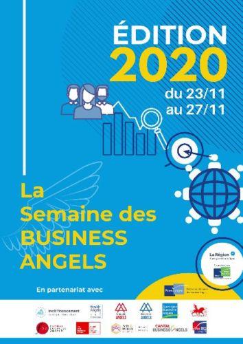 La Semaine des Business Angels se déroule en ligne et sur inscription du 23 au 27 novembre 2020.