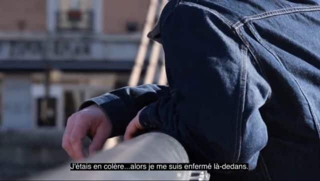 La vidéo prend le parti de donner la parole à un ancien auteur de violences pris en charge par l'association Passible © Métropole de Grenoble