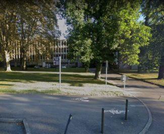 La vue du 301 rue de la chimie ou l'explosion a eu lieu en fin d'après-midi. © Google Maps