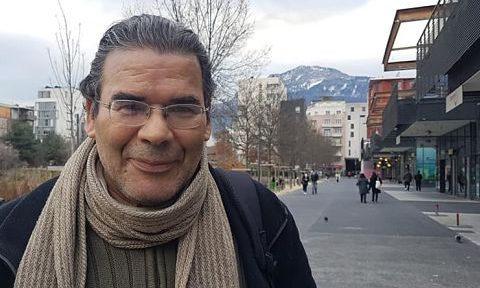 COUV Hosni Ben Redjeb, conseiller municipal non inscrit, ex-colisiter de Grenoble en commun, décembre 2020 © Séverine Cattiaux - placegrenet.fr