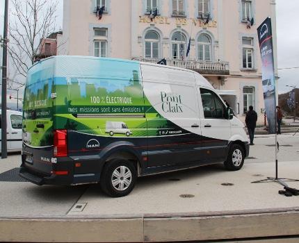 Le nouveau véhicule acquis par la ville de Pont-de-Claix. © Ville de Pont-de-Claix
