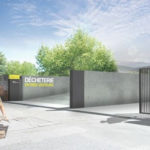 COUV Visuel nouvelle déchèterie Saint-Martin-d'Hères © Grenoble-Alpes Métropole