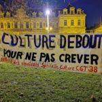 La CGT Spectacle appelle à la manifester contre les fermetures des lieux culturels mardi 19 janvier à Grenoble