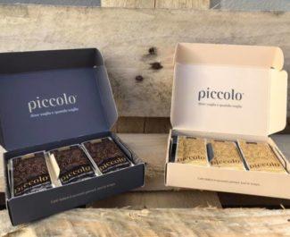 Coffrets de café Piccolo. © Piccolo