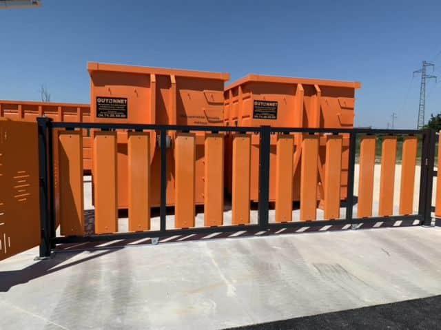 La société Guyonnet va créer des déchetteries automatiques ouvertes 24 heures sur 24 et 7 jours sur 7 à destination des entreprises © Guyonnet