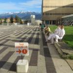 La deuxième vague du coronavirus a particulièrement éprouvé le personnel soignant en Isère. © Tim Buisson – Place Gre'net