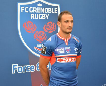 Une Fabien Gengenbacher FC Grenoble rugby