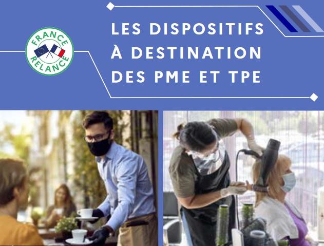 Parmi les chapitres-clés, le guide présente les dispositifs à destination des PME et des TPE