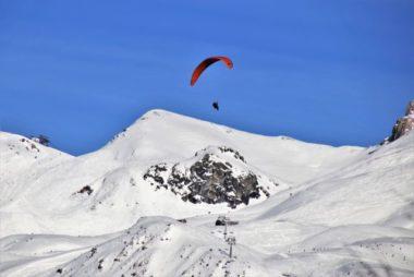 Vol à ski © Pixabay