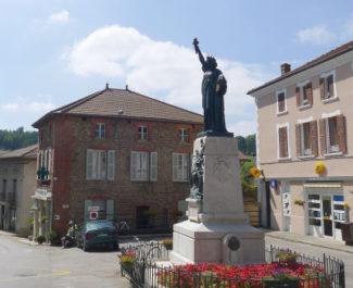 La statue de la liberté de Roybon. © Ville de Roybon
