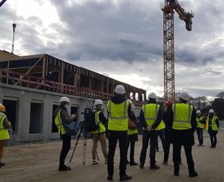 COUV Collège Lucie Aubrac de la Villeneuve en construction, jeudi 21 janvier 2021 © Séverine Cattiaux - Place Gre'net