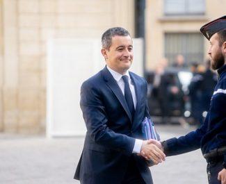 Gérald Darmanin visite les commissariat de Vaulx-en-Velin et Bourgoin-Jallieu mercredi 27 janvier