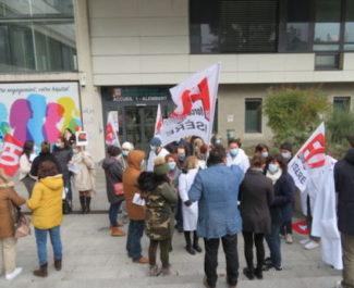 Préavis de grève illimité au groupement hospitalier mutualiste de Grenoble, repris par Doctegestio, à compter du 18 janvier.