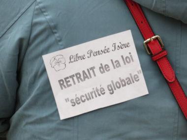 La première mobilisation contre la loi sécurité globale remonte à novembre 2020.© Tim Buisson – Place Gre'net