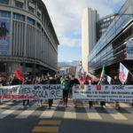 Manifestation 26 janvier 2021 des étudiants et des enseignants. © Tim Buisson – Place Gre'net