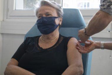 Début de la campagne de vaccination des plus de 75 ans en Isère. Photo DR.