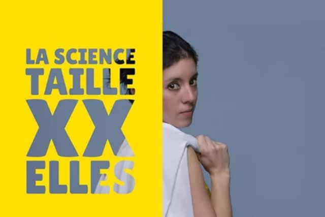 """L'exposition """"La science taille XX Elles"""" veut mettre en lumière les femmes scientifiques © Femmes & Science"""