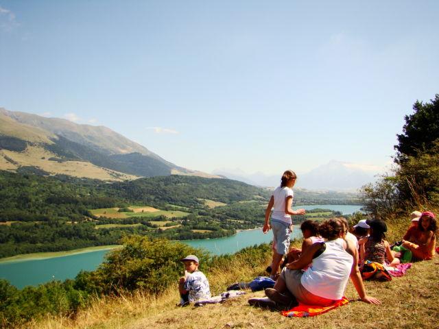L'association Plein temps vacances et loisirs organise des séjours de vacances ou des classes découverte pour les jeunes du plateau Matheysin © Plein temps vacances et loisirs