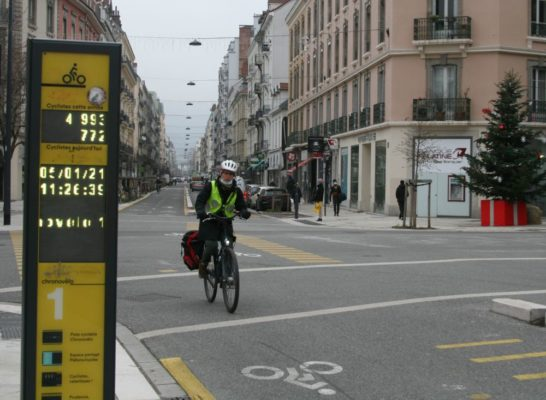 La pratique du vélo a fortement augmenté lors du premier déconfinement. © Fanny Seguela - Place Gre'net