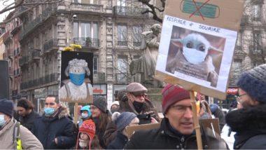 Manifestation contre la « dictature sanitaire » à Grenoble
