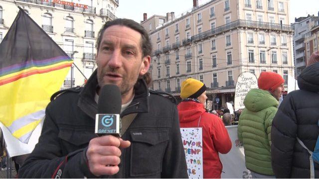 François-Marie Périer, fondateur du collectif Gre LiVe. © Joël Kermabon - Place Gre'net