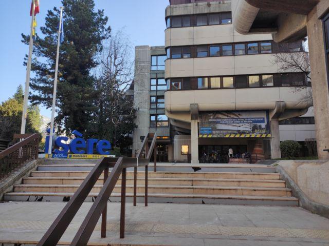 Hôtel du Département de l'Isère à Grenoble © Florent Mathieu - Place Gre'net