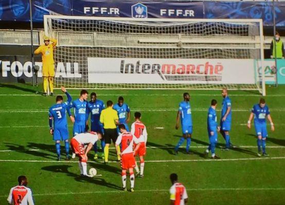GF38-Monaco (0-1) 32es de finale Coupe de France 2021