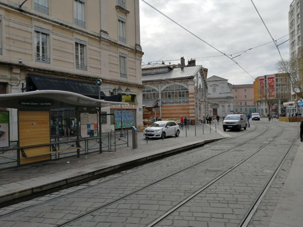 Le quartier des Halles Sainte-Claire sera piéton à compter du 31 mai 2021 @ Antonin Aubry - Place Gre'net