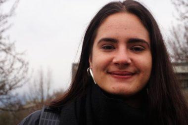 Katya, étudiante en troisième année de sciences humaines appliquées © Simon Marseille - Place Gre'net