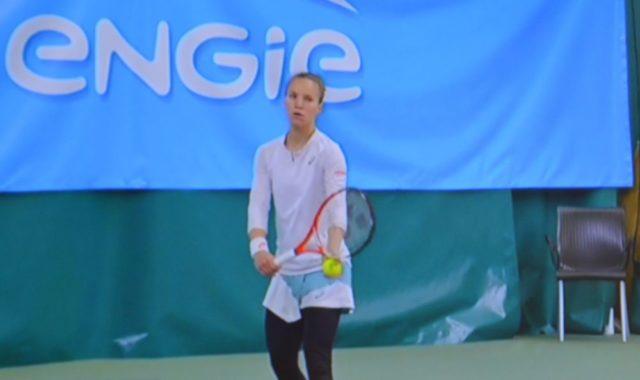 Viktorija Golubic, lauréate du 11e Engie Open de l'Isère tennis