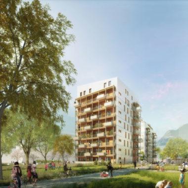 Projet Haut-Bois dans le quartier Flaubert à Grenoble