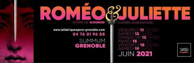 Roméo & Juliette, le dernier opéra de l'association La Fabrique de l'Opéra, qui devait être joué au Summum en mars dernier