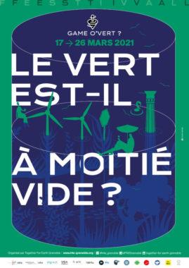 Affiche du festival Game O'vert ? organisé par l'association Together For Earth