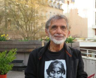Edmond Baudoin à Grenoble en mars 2021. © Tim Buisson – Place Gre'net