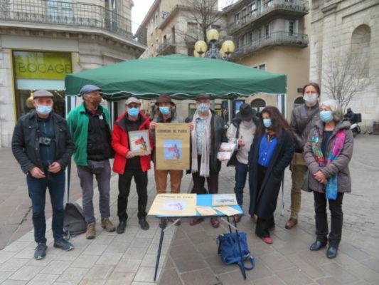 Grenoble : la Commune de Paris célébrée durant trois mois.Un collectif a organisé une série d'évènements pour célébrer les 150 ans de la commune de Paris. © Tim Buisson – Place Gre'net