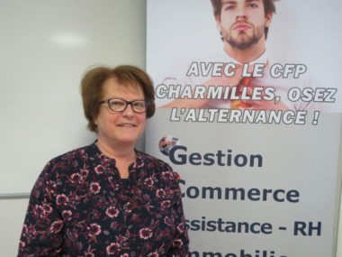 Elisabeth Ravix, chef d'établissement aux Charmilles. © Tim Buisson – Place Gre'net