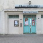 L'école Jean-Racine à Grenoble. © Tim Buisson – Place Gre'net