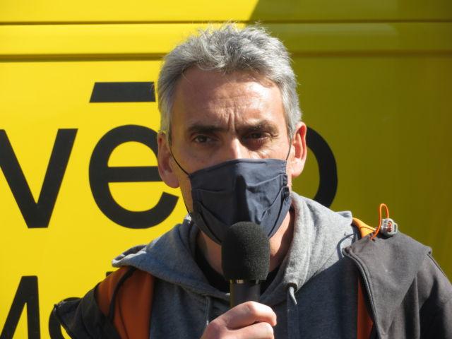 Gilles Namur, adjoint à la ville de Grenoble en charge des Mobilités, appelle à lutter contre les points noirs accidentogènes du territoire © Tim Buisson – Place Gre'net