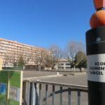 La cour de l'école Marcel-David va être végétalisée. © Tim Buisson – Place Gre'net