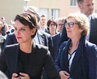 Pas d'union de la gauche pour les élections en Auvergne Rhône-Alpes où Najat Vallaud-Belkacem offoicialise sa candidature.