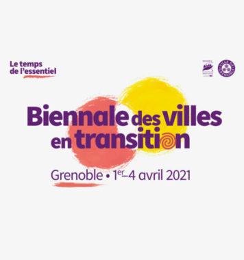 Affiche de la biennale des villes en transition pour l'édition 2021. Photo DR