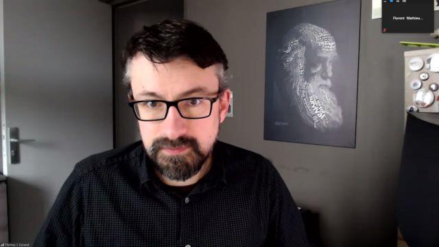 Le Youtubeur Thomas Durand, fondateur de la chaîne de zététique La Tronche en biais, animera une table rond sur la polémologie (étude de la guerre) et l'irénologie (étude de la paix).