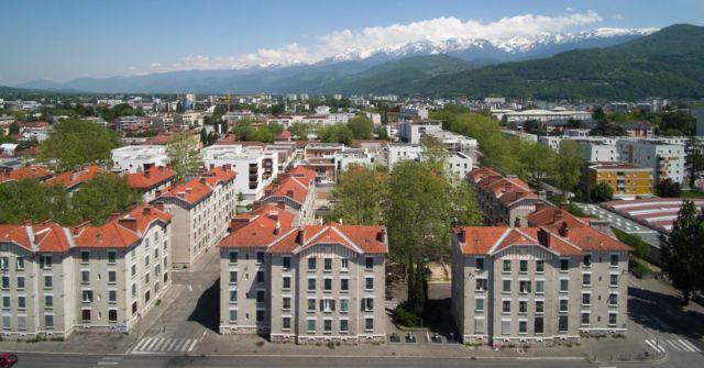Grenoble : un projet d'urbanisme transitoire pour l'Abbaye.Quartier de l'Abbaye à Grenoble © Ville de Grenoble