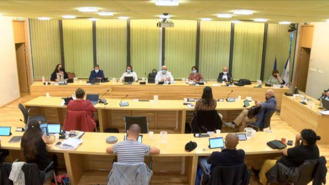 Échirolles : le Plan climat air énergie voté après débat. CM Échirolles lundi 26 avril 2021. © Capture d'écran